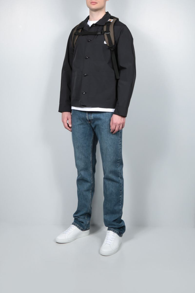 A.P.C.: Nathanael ripstop nylon overshirt Color Black_2