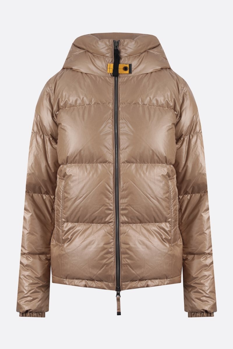 PARAJUMPERS: Regan nylon down jacket Color Neutral_1