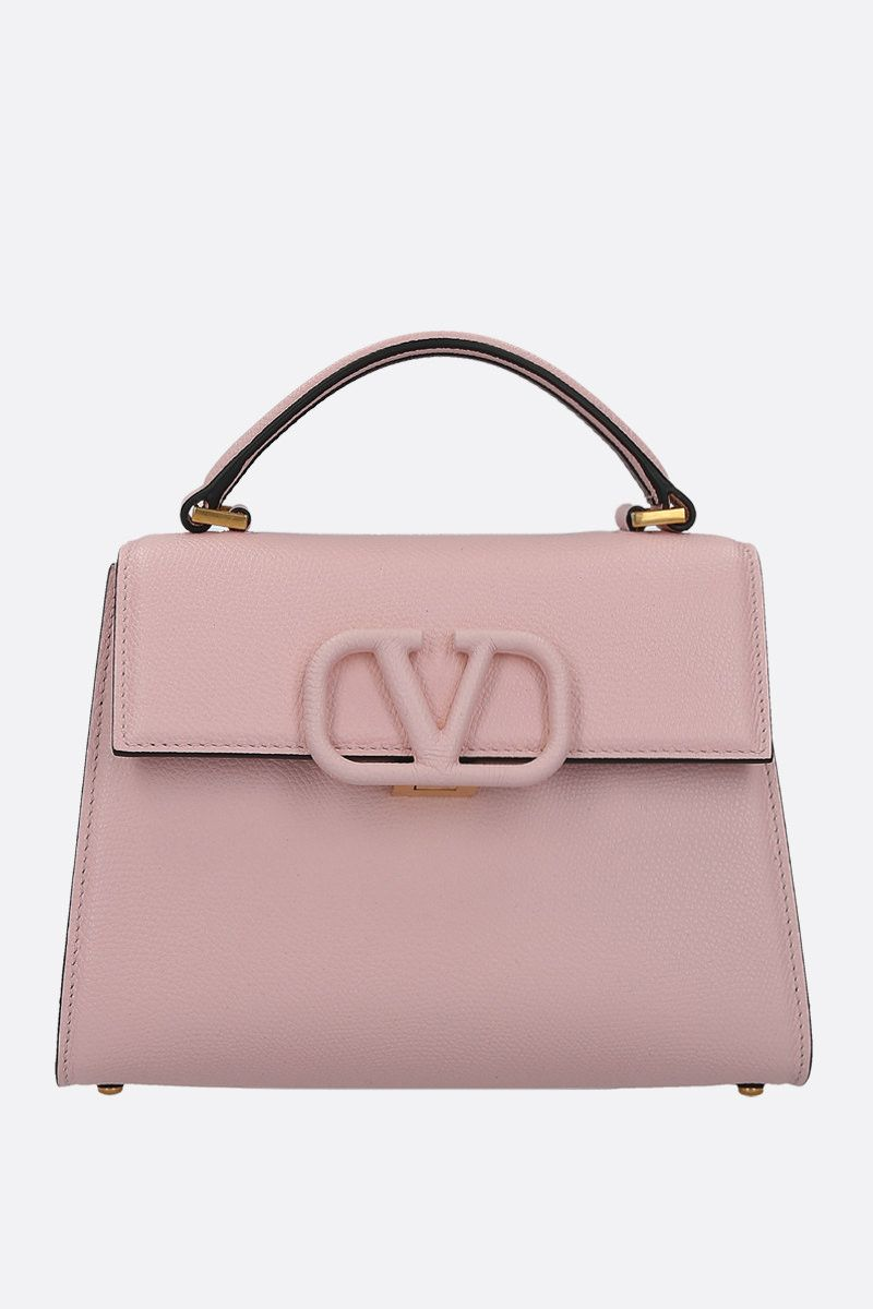 VALENTINO GARAVANI: VSLING small top handle bag in grainy leather_1