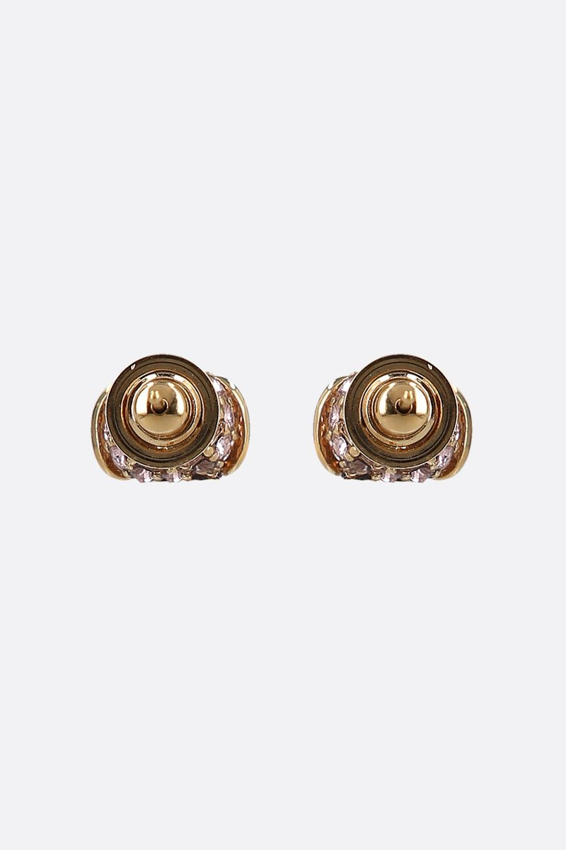 VALENTINO GARAVANI: VLOGO Signature metal earrings_2