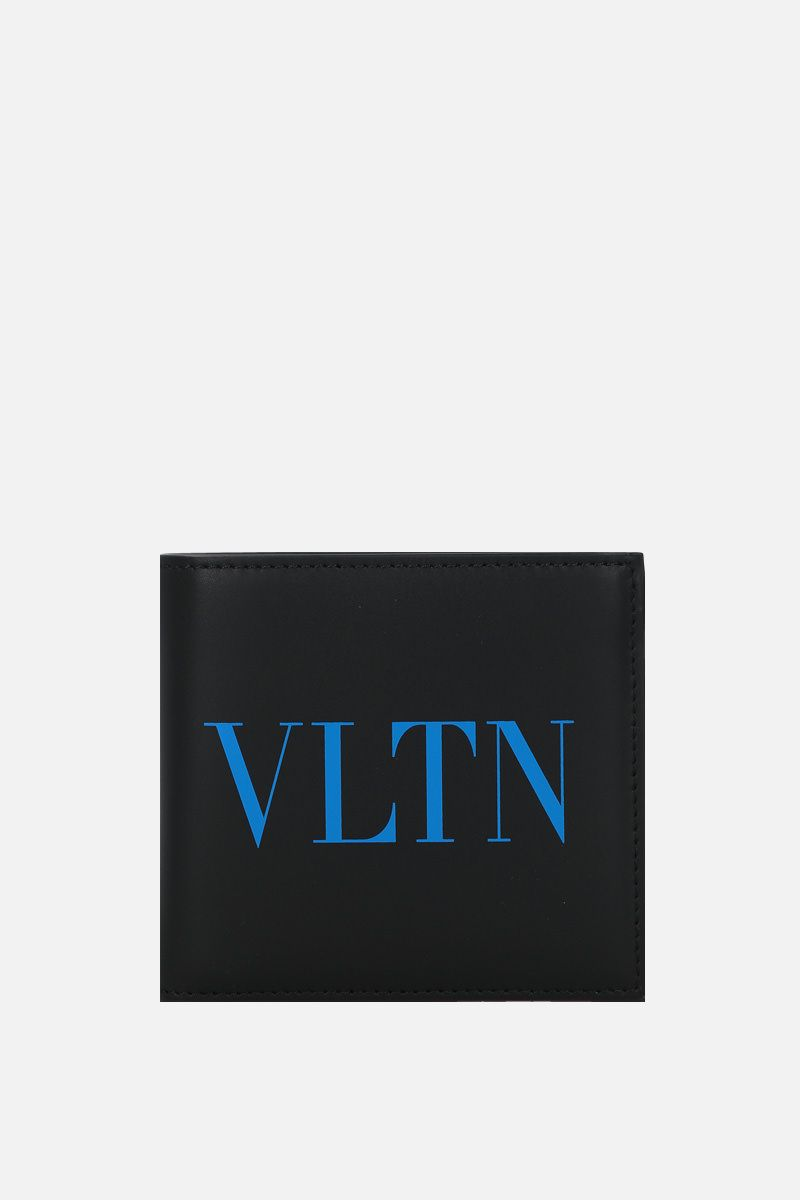 VALENTINO GARAVANI: VLTN smooth leather billfold wallet_1