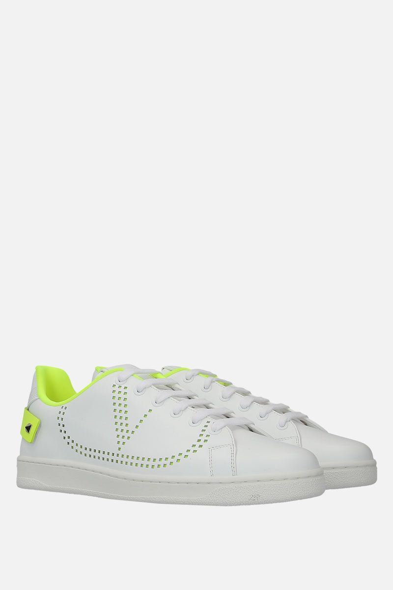 VALENTINO GARAVANI: Backnet smooth leather sneakers_2