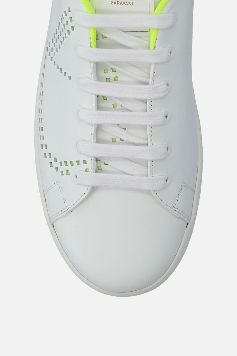 VALENTINO GARAVANI: Backnet smooth leather sneakers_4