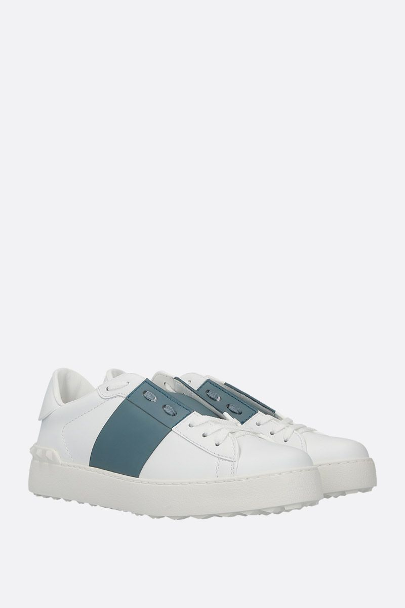 VALENTINO GARAVANI: Open sneakers in smooth leather_2