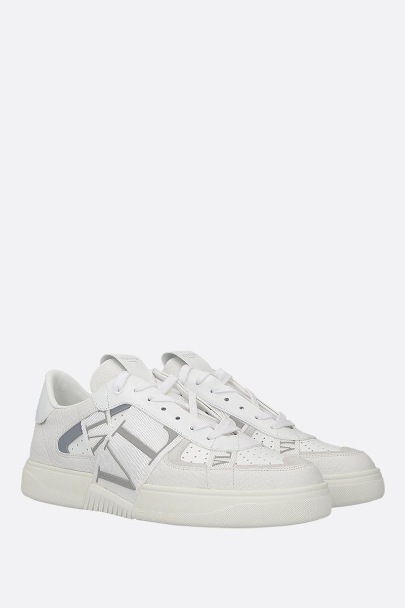 VALENTINO GARAVANI: VL7N sneakers in grainy leather and tech fabric Color Multicolor_2