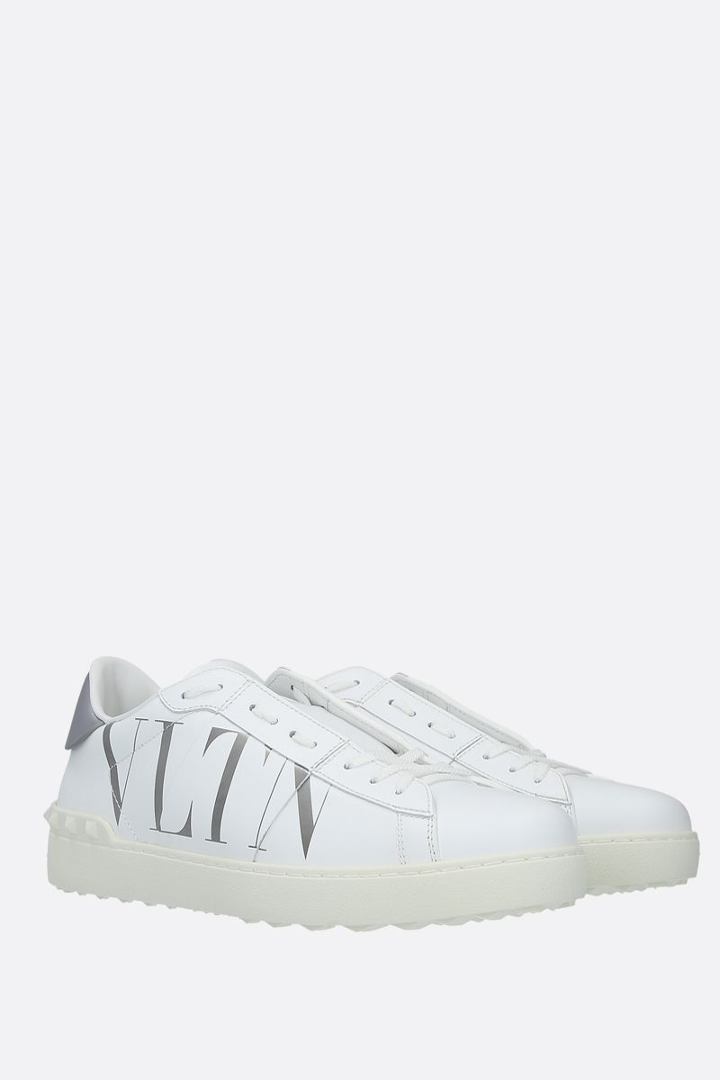VALENTINO GARAVANI: Open VLTN smooth leather sneakers_2