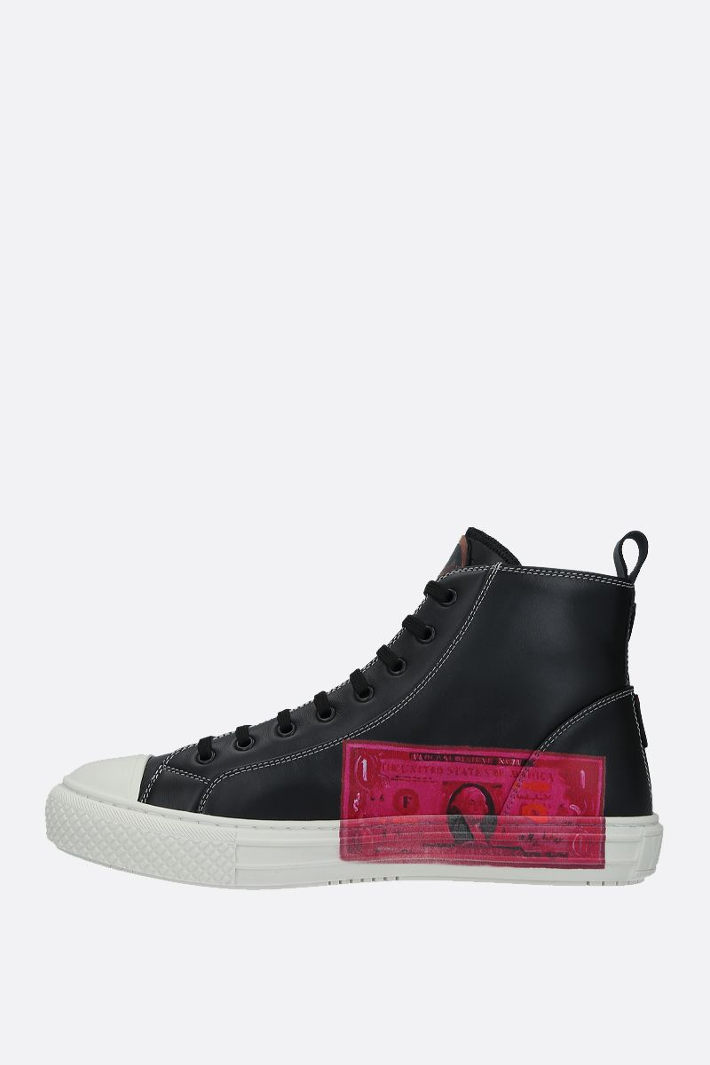 VALENTINO GARAVANI: Giggies smooth leather sneakers Color Multicolor_2