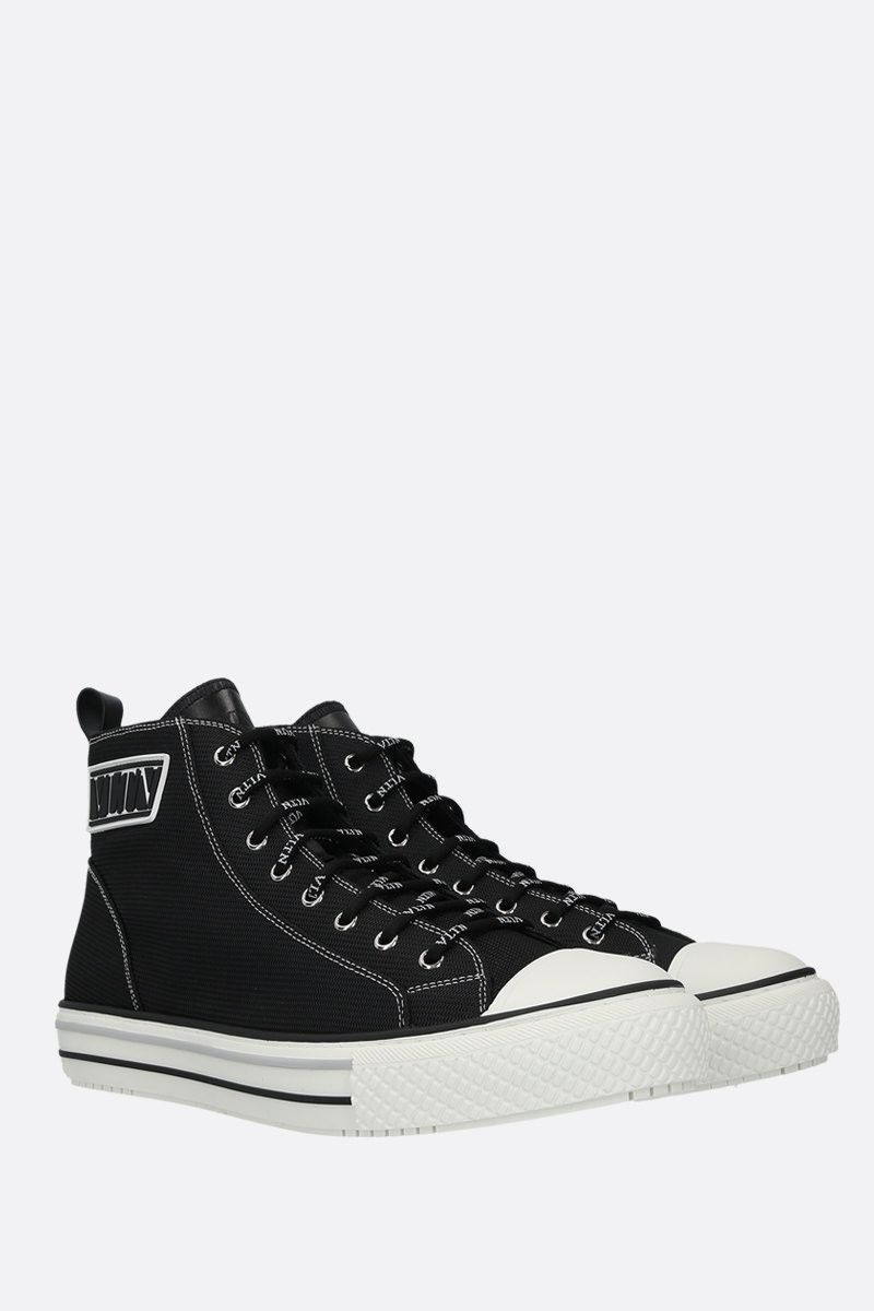 VALENTINO GARAVANI: Giggies VLTN nylon sneakers Color Black_2