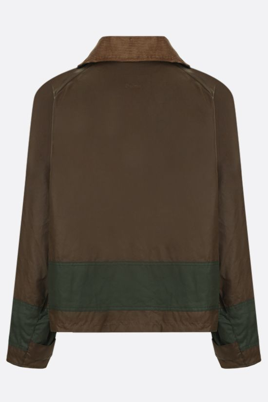 BARBOUR BY ALEXA CHUNG: Patricia waxed canvas jacket_2