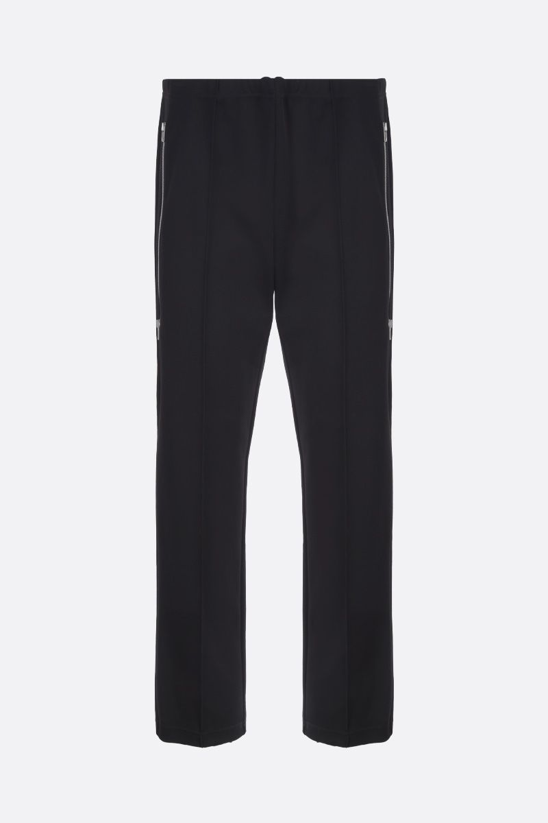 MAISON MARGIELA: technical cotton joggers Color Black_1