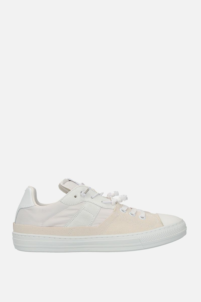 MAISON MARGIELA: Evolution sneakers in a mix of materials Color White_1