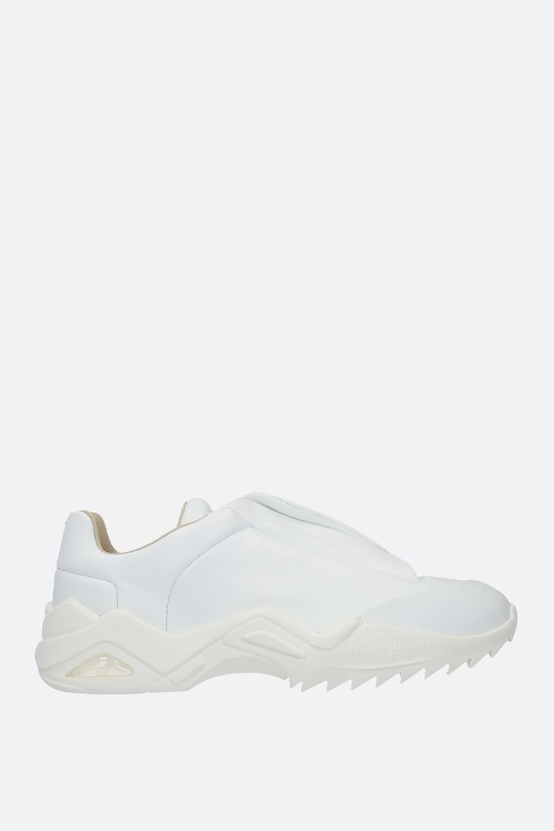 MAISON MARGIELA: Future smooth leather sneakers Color White_1