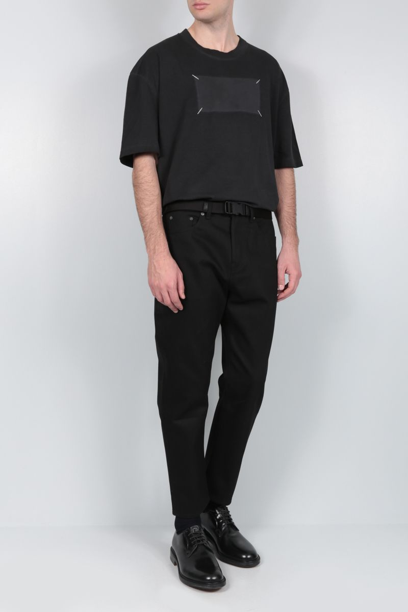 MAISON MARGIELA: Memory Of cotton oversized t-shirt Color Black_2