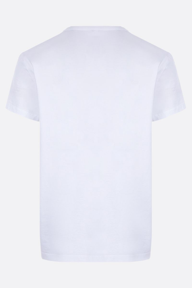 MAISON MARGIELA: Tabi cotton t-shirt Color White_2
