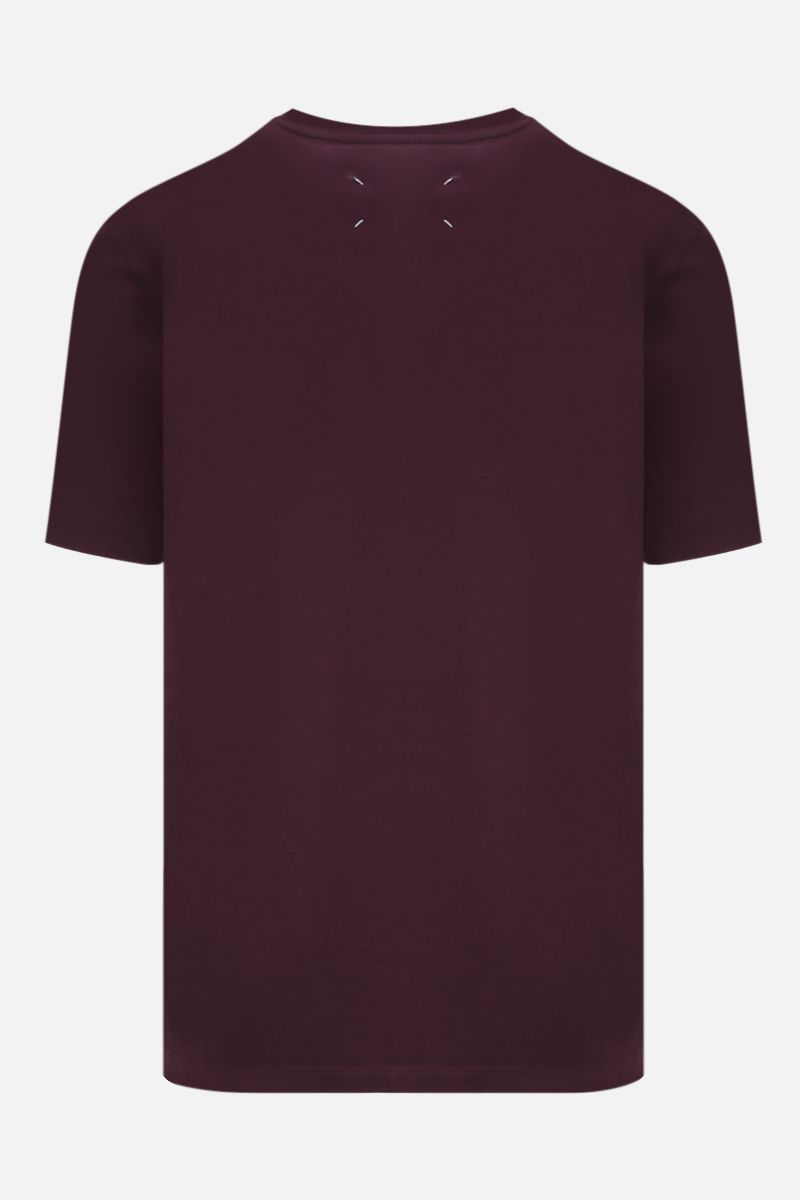 MAISON MARGIELA: cotton t-shirt Color Red_2