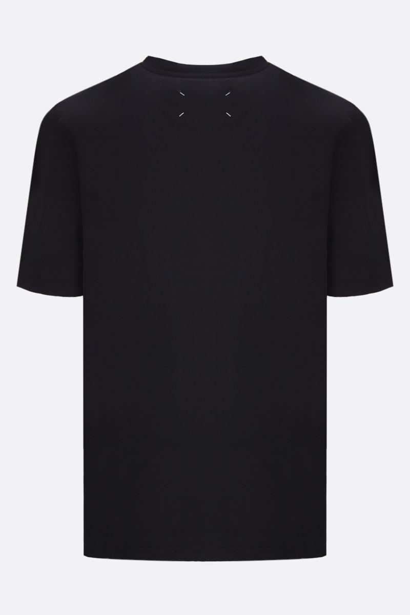 MAISON MARGIELA: cotton t-shirt Color Black_2