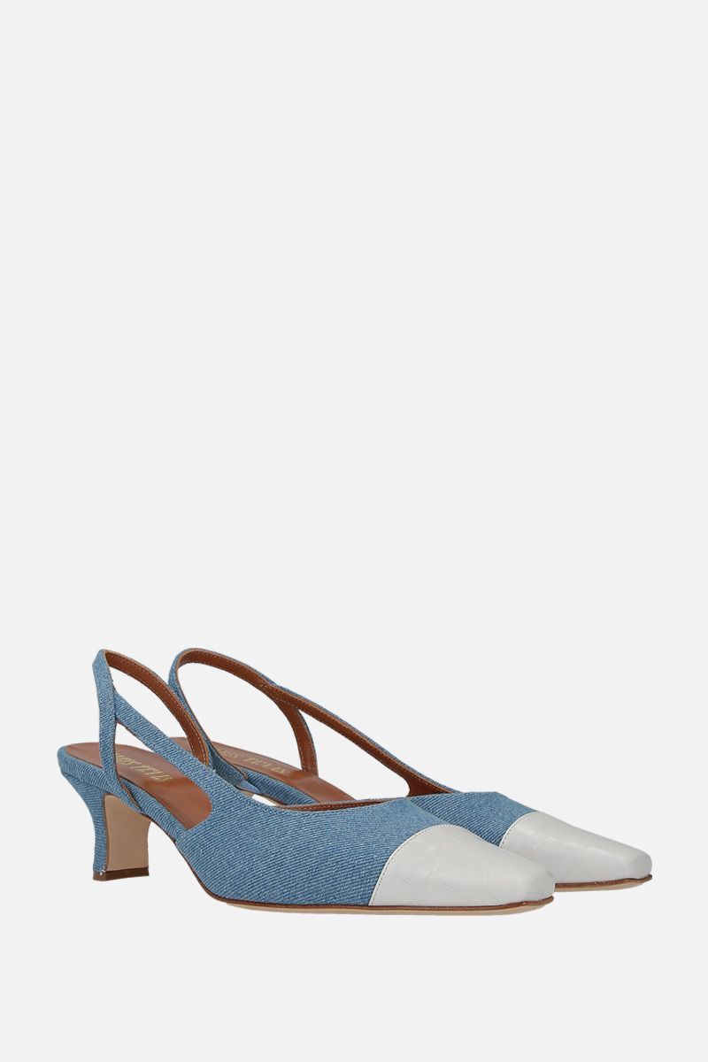 PARIS TEXAS: denim slingbacks_2