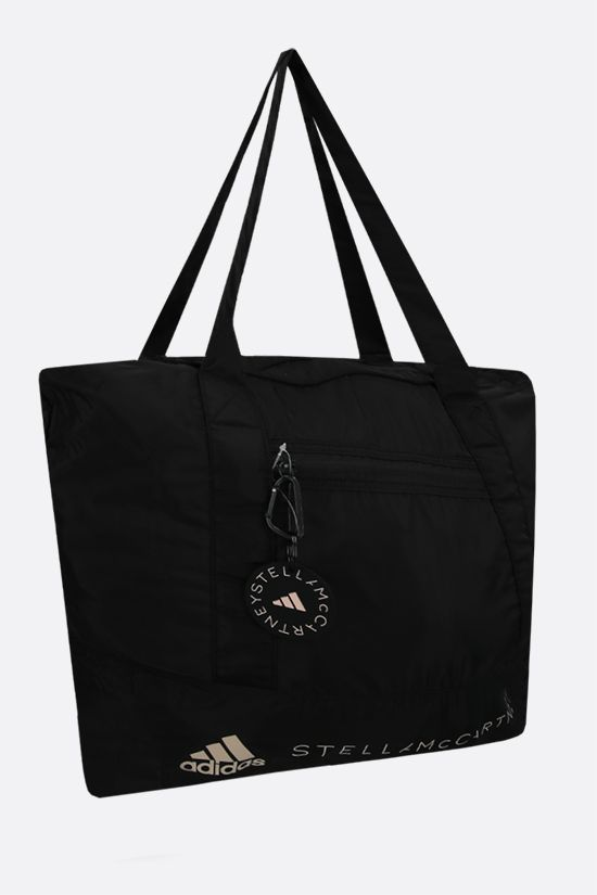 ADIDAS BY STELLA McCARTNEY: adidas by Stella McCartney recycled nylon medium tote Color Black_2