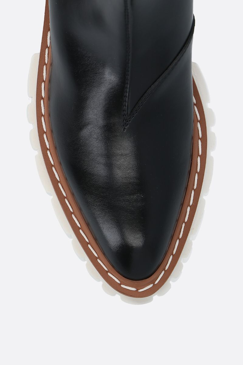 STELLA McCARTNEY: Emily chelsea boots in Alter Nappa Color Black_4