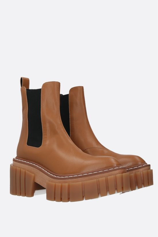 STELLA McCARTNEY: Emilie chelsea boots in Alter Nappa Color Brown_2