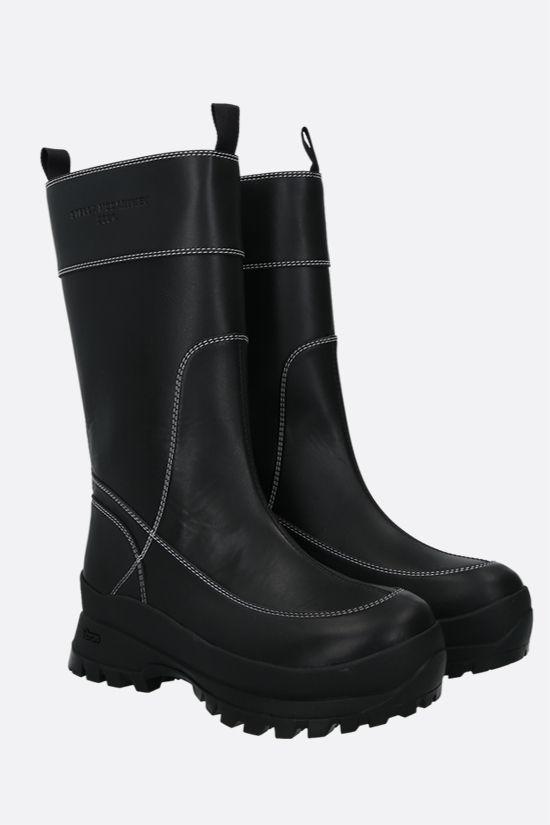 STELLA McCARTNEY: Trace Utility boots in Alter Nappa Color Black_2