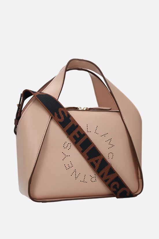 STELLA McCARTNEY: Stella Logo medium tote in Alter Nappa Color Pink_2