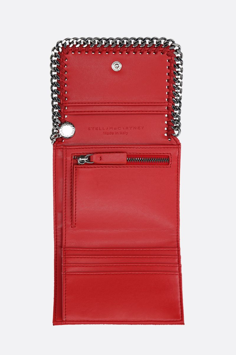 STELLA McCARTNEY: small Falabella Shaggy Deer flap wallet_2