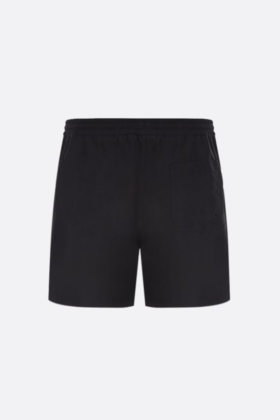 CARHARTT WIP: Chase nylon swim shorts Color Black_2