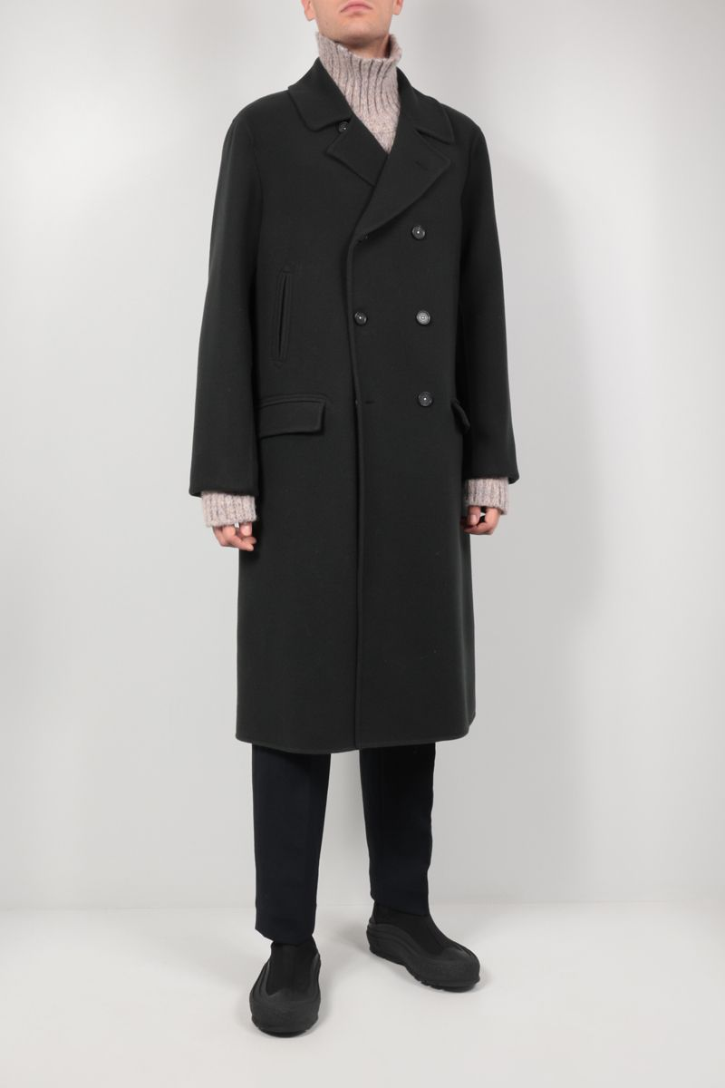 MASSIMO ALBA: Daimler double-breasted wool coat Color Grey_2