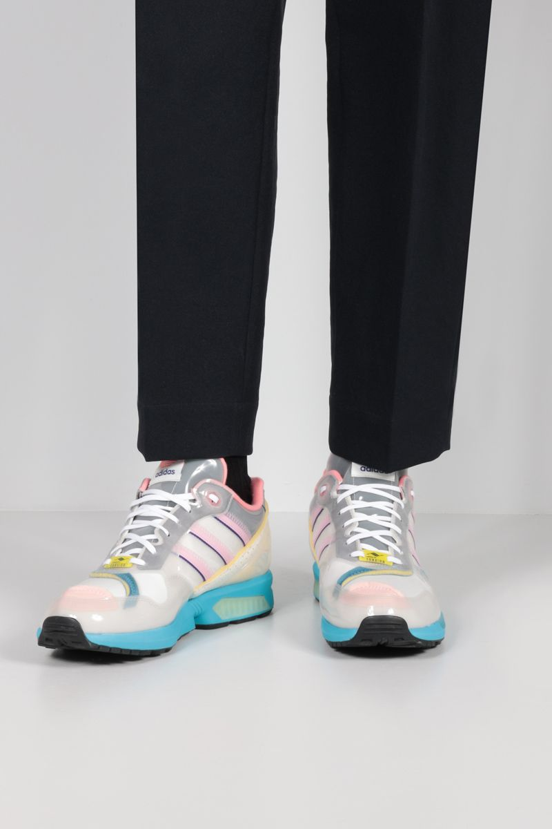 ADIDAS STATEMENT: XZ 0006 Inside Out sneakers in mesh and TPU Color Grey_2