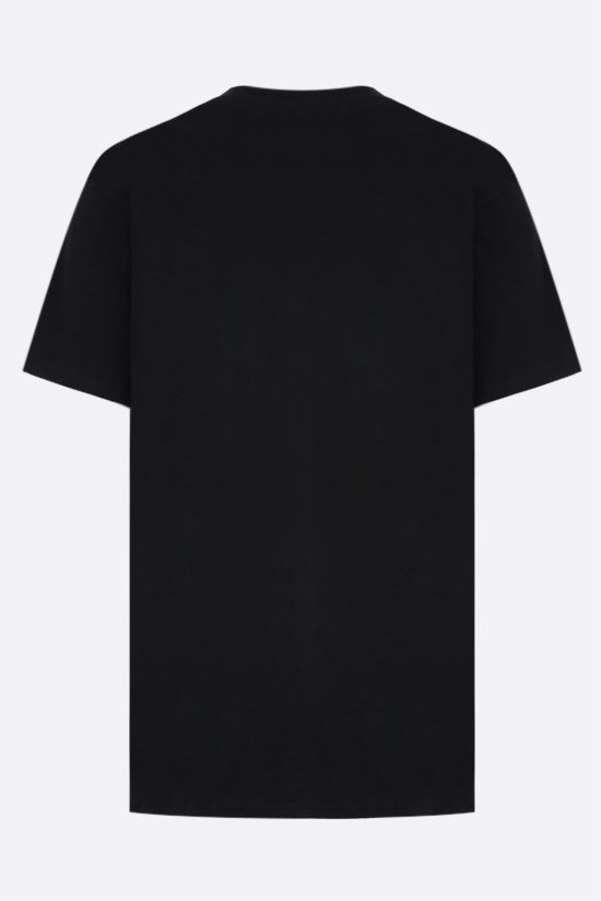 CHINATOWN MARKET: Chinatown Flower Arc cotton t-shirt Color Black_2
