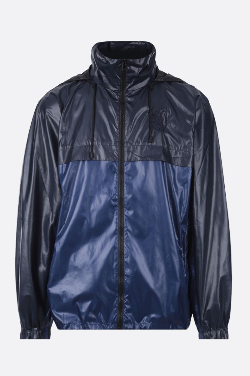 Eye/LOEWE/Nature: Eye/Loewe/Nature windbreaker in shiny nylon Color Blue_1