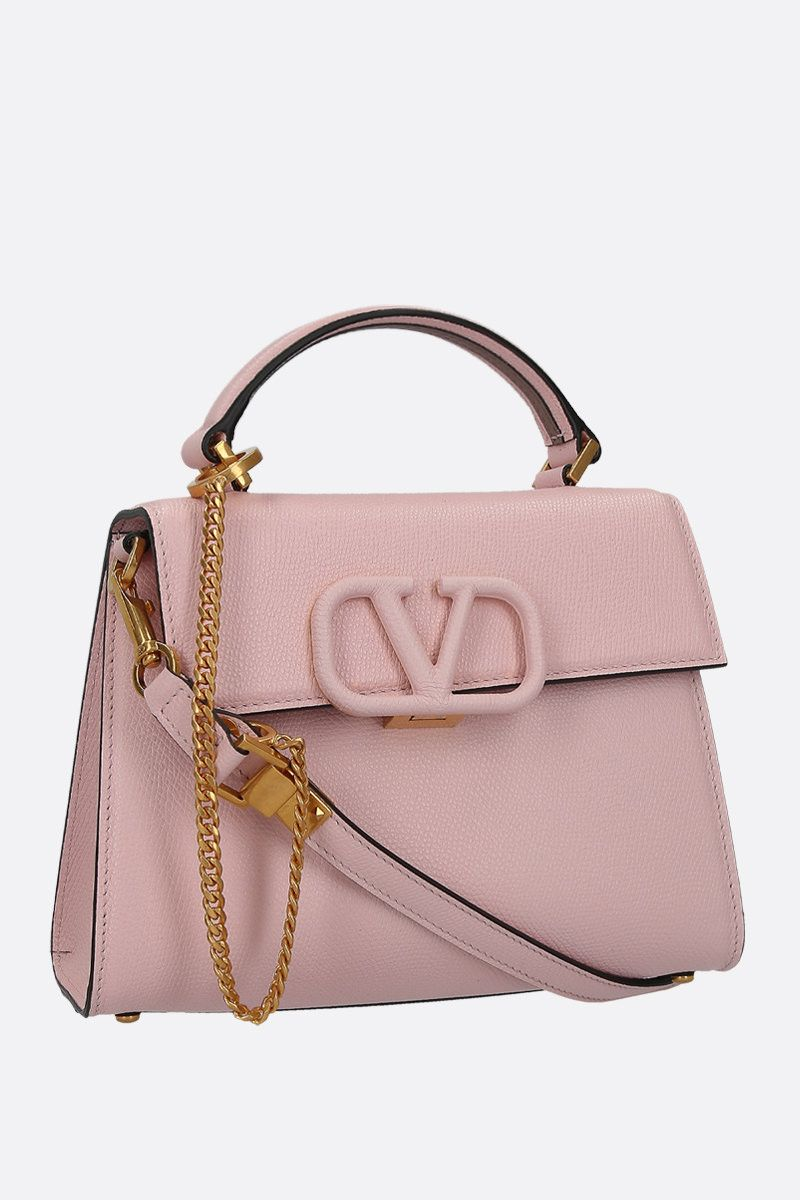 VALENTINO GARAVANI: VSLING small top handle bag in grainy leather_2