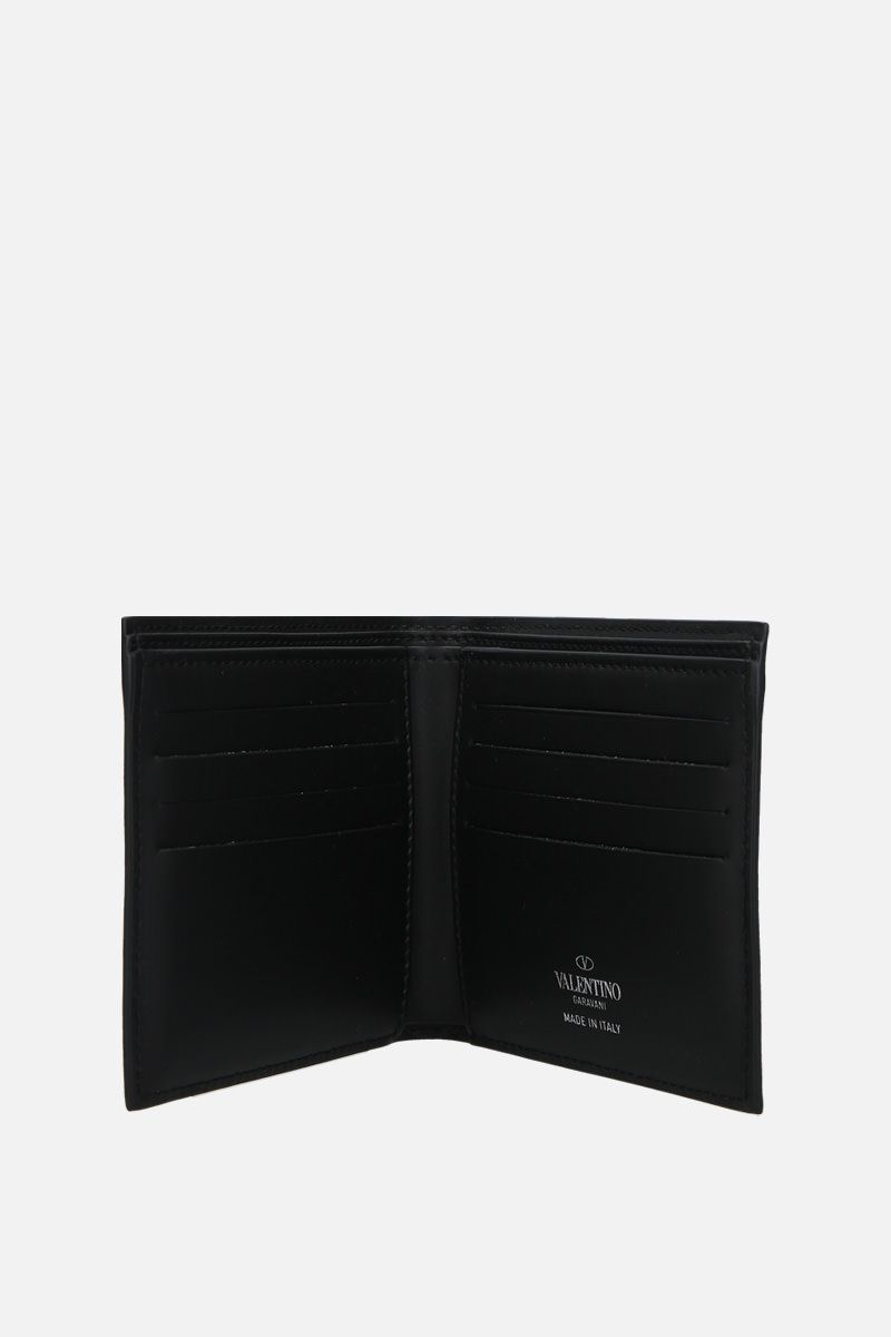VALENTINO GARAVANI: VLTN smooth leather billfold wallet_2