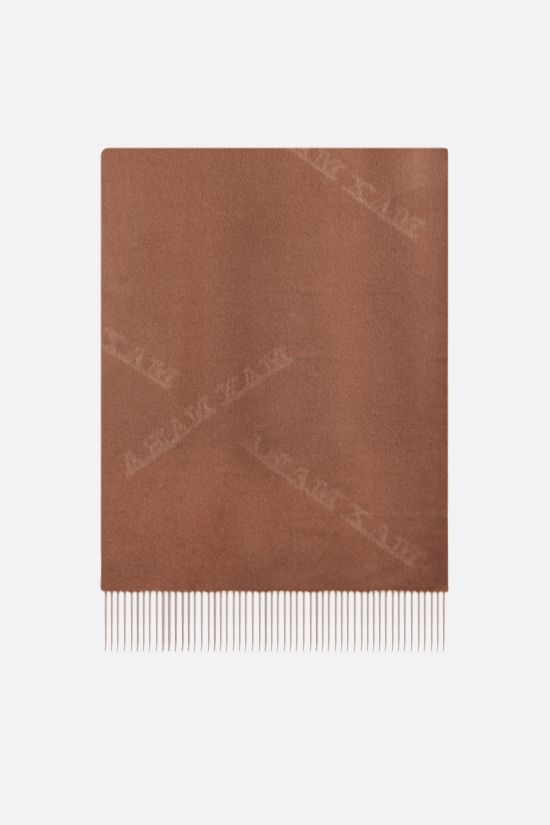 MAX MARA: Wsklaus cashmere stole Color Brown_1