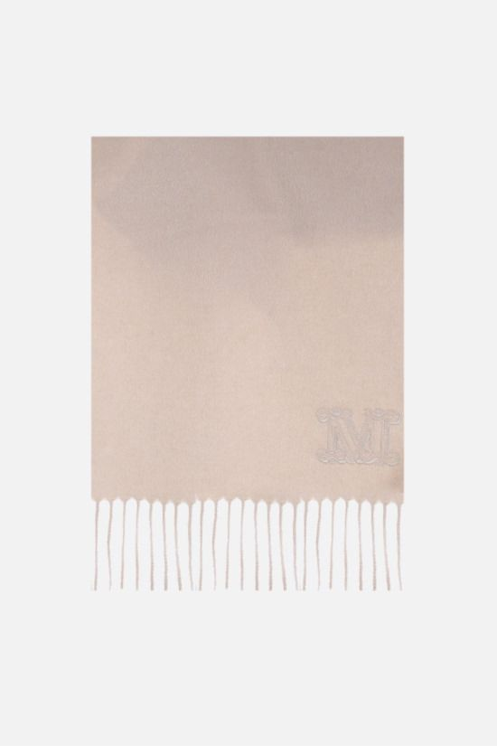 MAX MARA: Wsdalia cashmere scarf Color Neutral_1