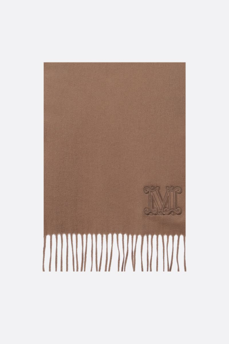 MAX MARA: Dalia cashmere scarf Color Neutral_1