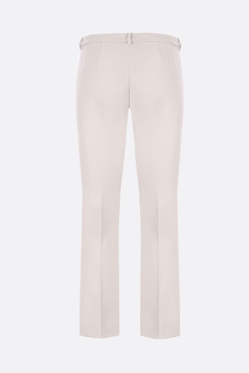 'S MAX MARA: Umanita cropped pants in stretch cover Color Neutral_2
