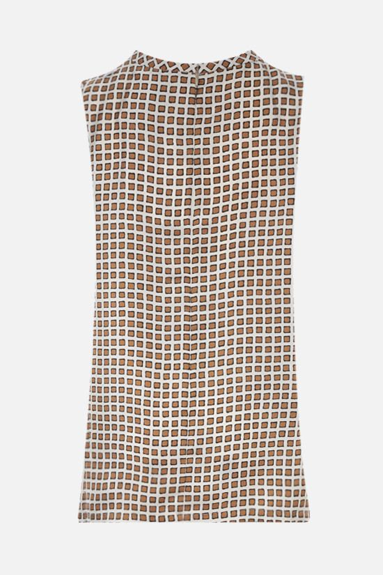 'S MAX MARA: Zarelia silk twill top Color Neutral_2