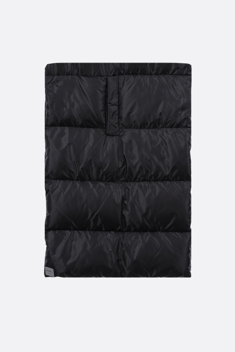 MAX MARA THE CUBE: Seisca nylon padded scarf Color Black_1