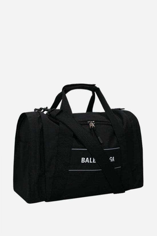 BALENCIAGA: Sport N-S recycled nylon gym bag Color Black_2