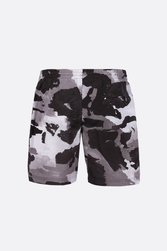 DOLCE & GABBANA: camouflage print nylon swim shorts Color Multicolor_2