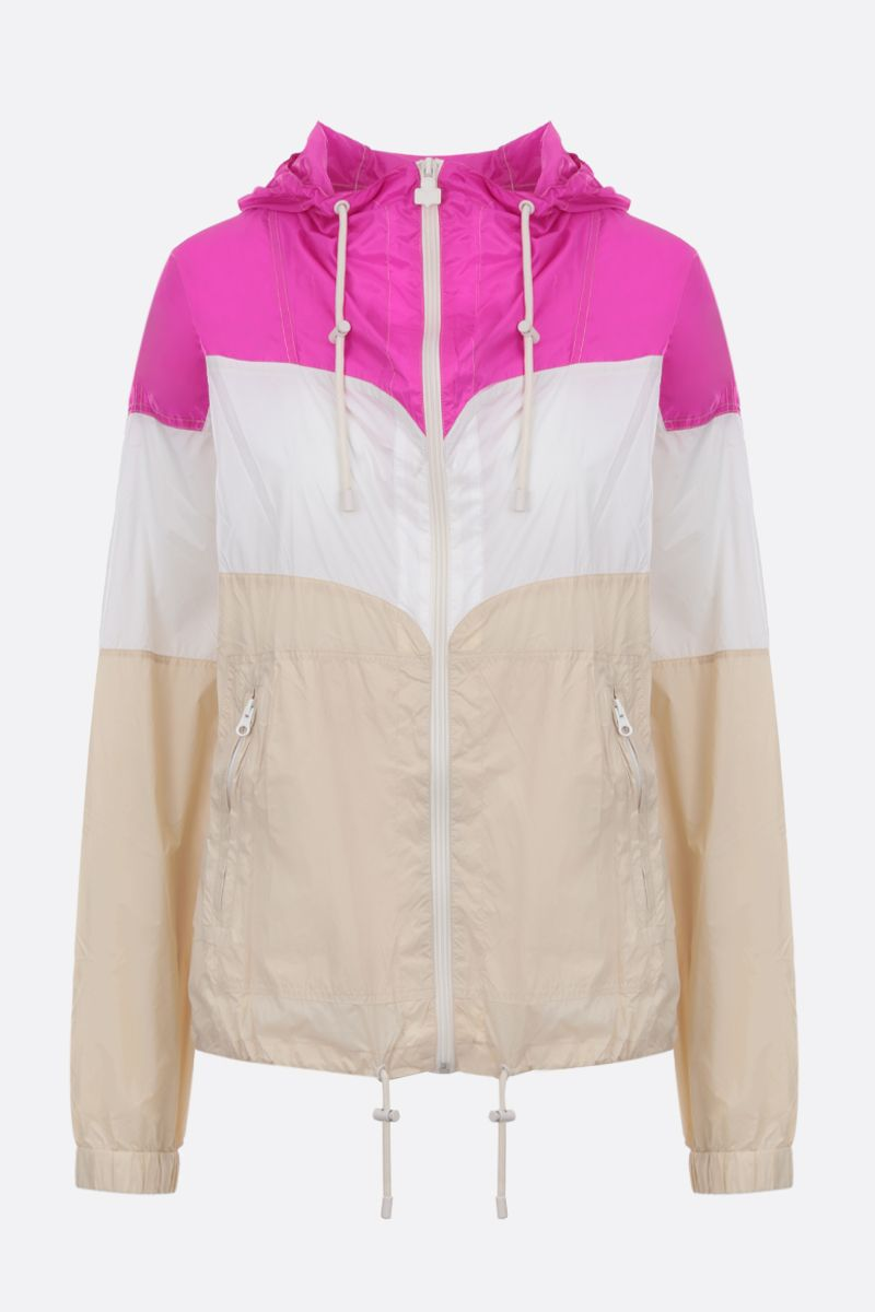 ISABEL MARANT ETOILE: Kyriel windbreaker in colour-block nylon Color Multicolor_1