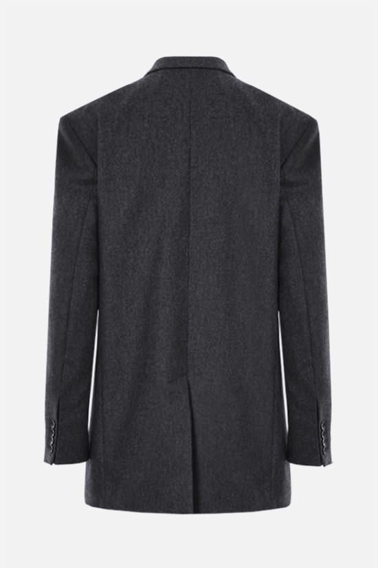 ISABEL MARANT: Oladimia wool double-breasted jacket Color Grey_2