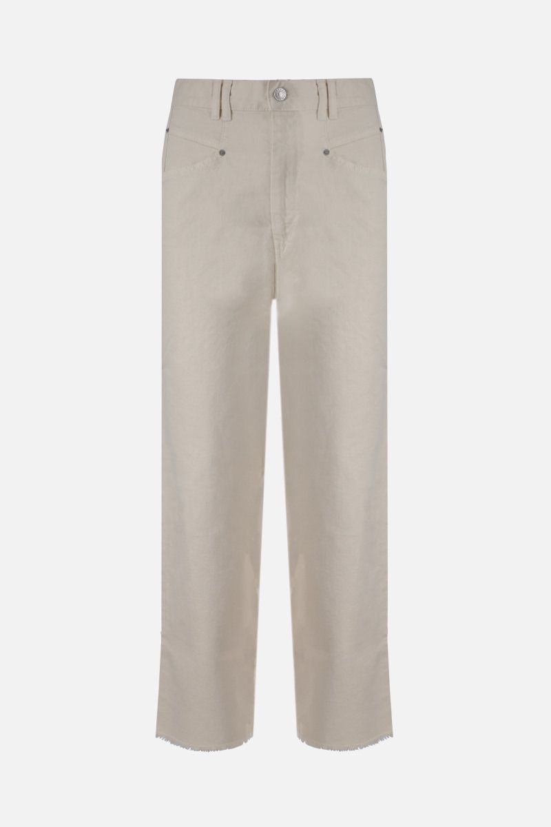 ISABEL MARANT: Naliska straight-fit jeans Color Neutral_1