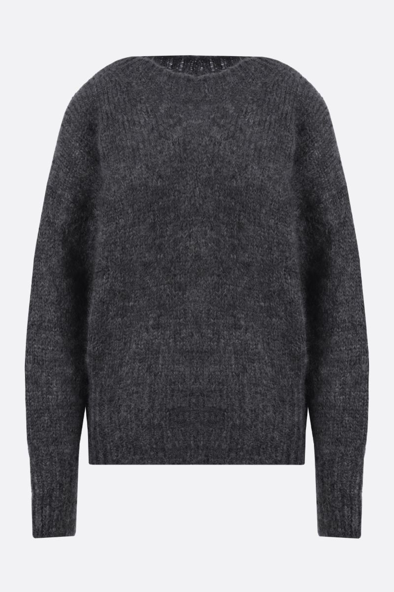 ISABEL MARANT: Estelle mohair blend pullover Color Grey_1