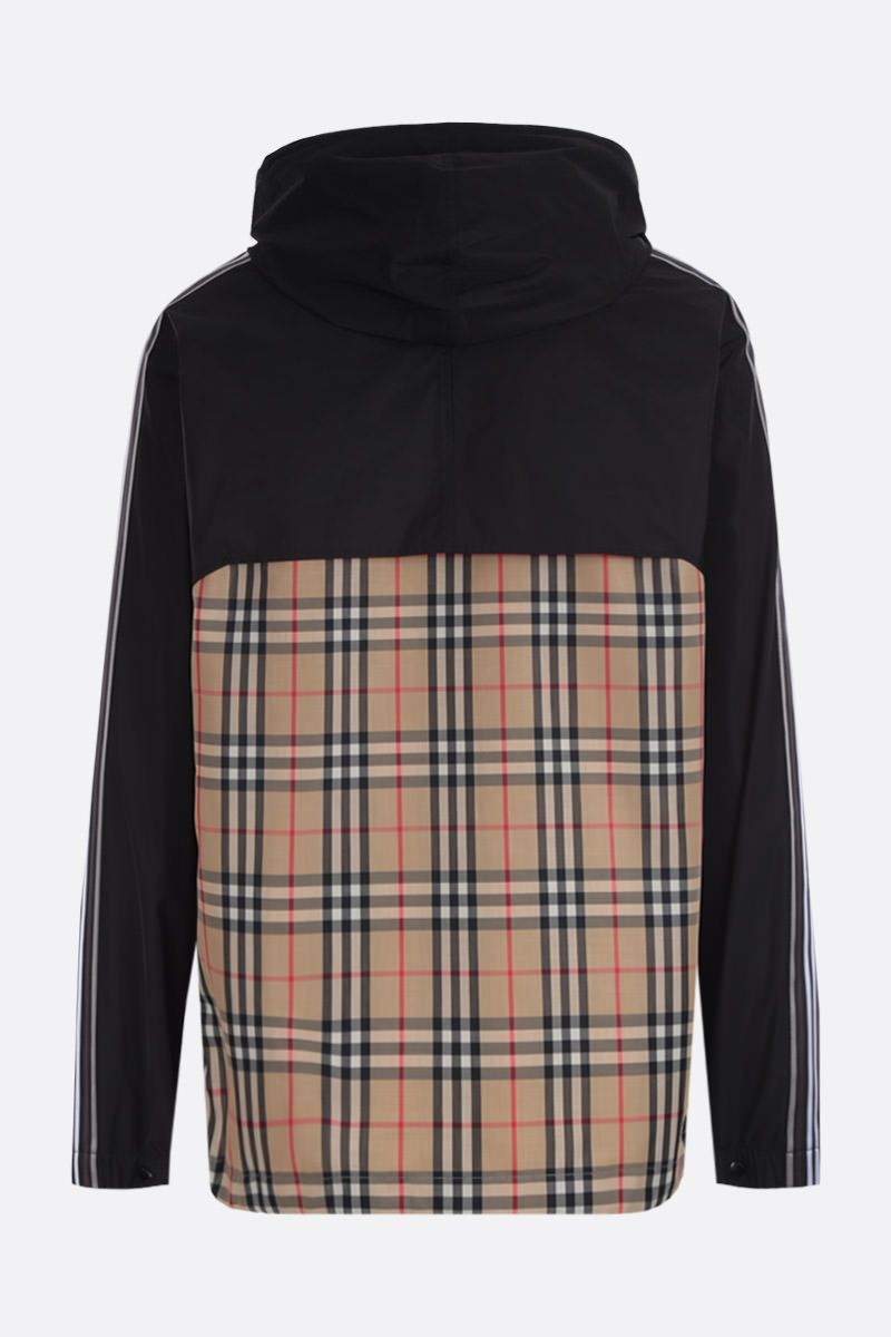 BURBERRY: Compton taffeta jacket with Vintage check panel_2