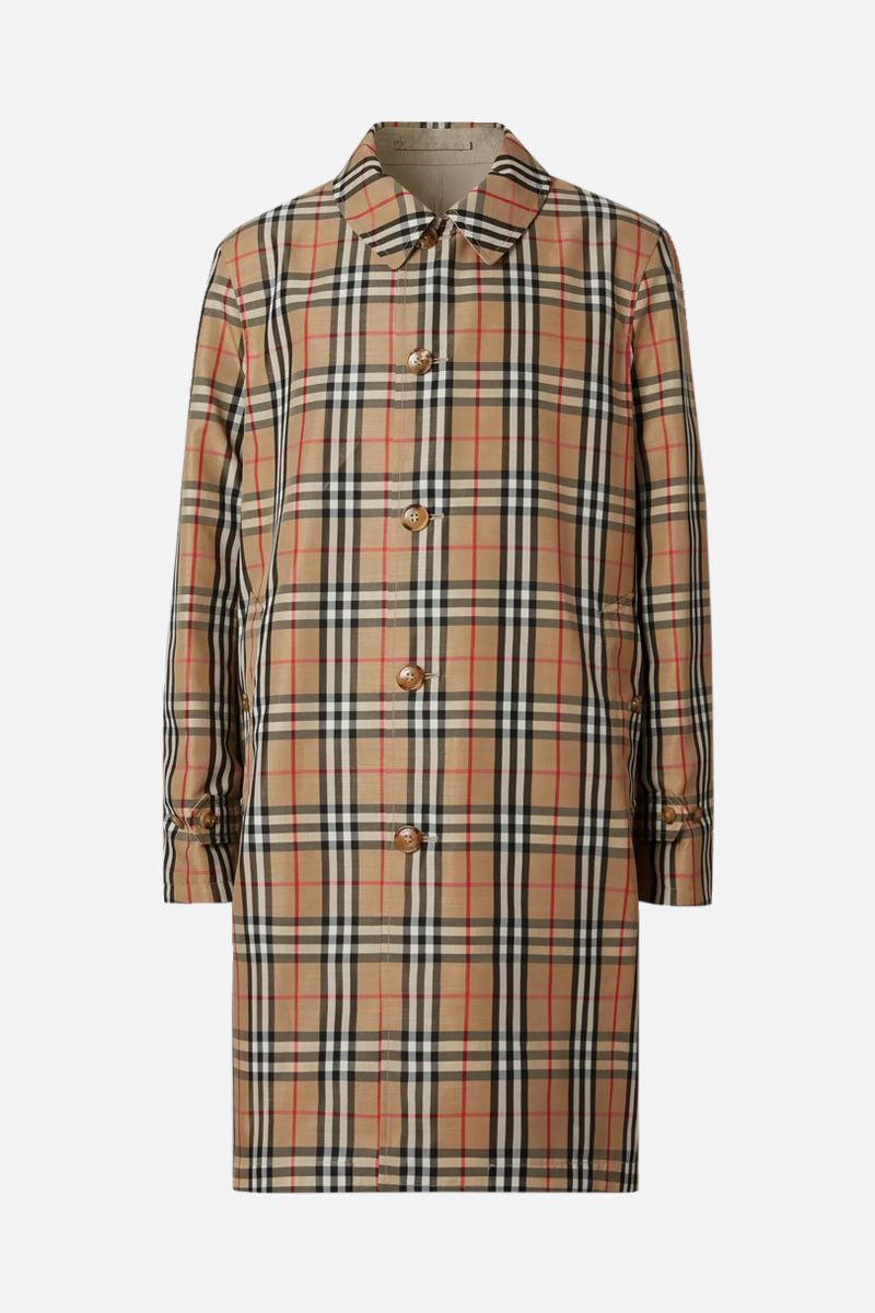 BURBERRY: gabardine and nylon reversible car coat_2