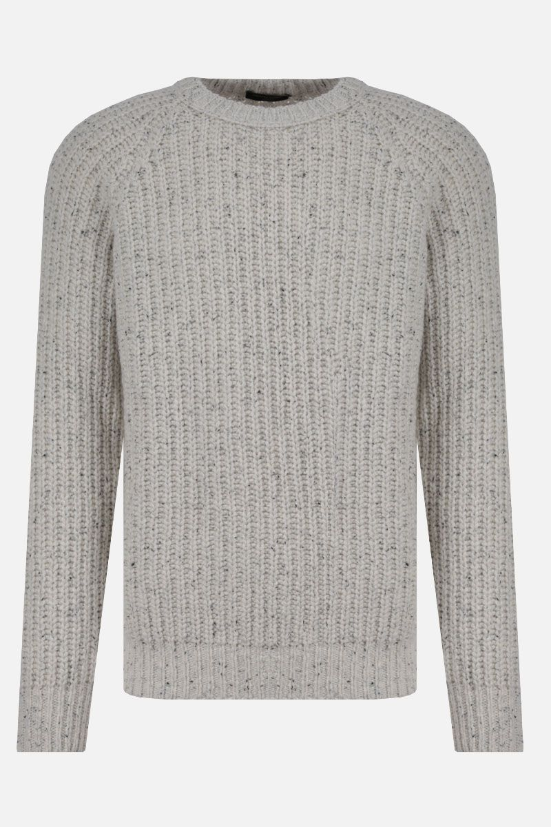 ROBERTO COLLINA: wool blend pullover Color White_1