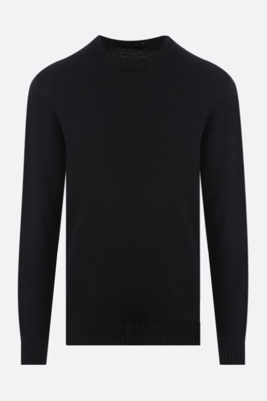 ROBERTO COLLINA: organic cotton pullover Color Black_1